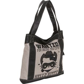 Loungefly Hello Kitty Wanted Tote Grey