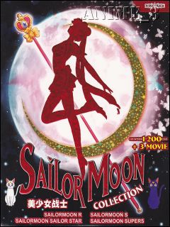 Sailor Moon Collection TV 1 200 End 3 Movies Complete Series