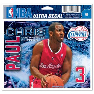 Chris Paul Los Angeles Clippers 5x6 Cling Decal