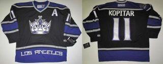 CCM Los Angeles Kings Anze Kopitar Black Jersey Sz Large