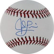 Jed Lowrie Boston Red Sox Signed Baseball MLB Authentic