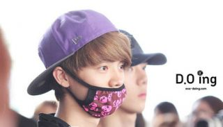 Warm Luhan Mouth Mask Exo M Anti Dust Flu Face Mask Surgical Mask Exo