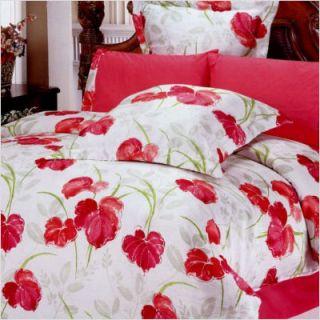 Le Vele Lucia 6 Piece Full Queen Duvet Cover Bedding Set LE183Q