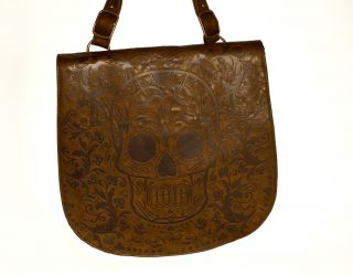 Loungefly Brown Sugar Skull Cross Body Bag
