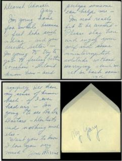 Lucille Ball Personal Love Letter Handwritten Signed 3 PG Autographed