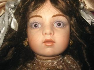 Patricia Loveless Bru JNE 13 Face French 26 Doll Champagne with