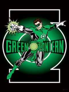 New Green Lantern Cloth Poster Flag DC Comics
