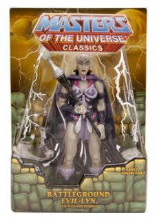 Battleground Evil Lyn Masters of the Universe Classics Evil Lyn Figure