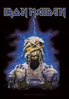 New Iron Maiden Cloth Poster Flag World Slavery Tour