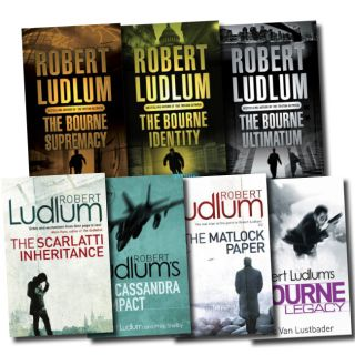 Bourne Series Collection Robert Ludlum 7 Books Set The Bourne Identity
