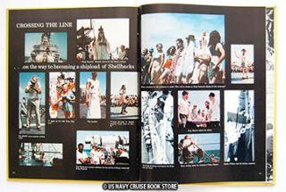 USS Lynde McCormick DDG 8 Westpac Cruise Book 1974 1975