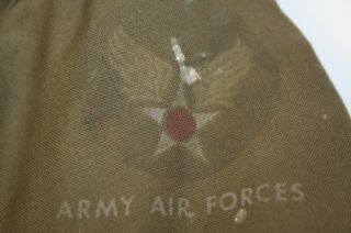 WW2 WWII RARE Original Vintage USAAF US Army Air Force Type B 10