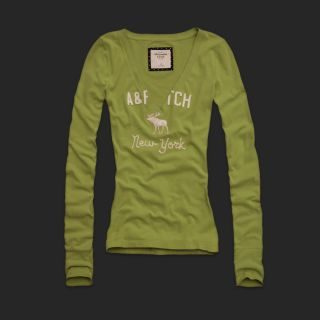 Abercrombie Fitch Women Leanne T Shirt XS s M