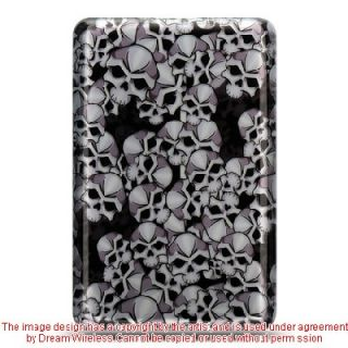 LUXMO  BN Nook Classic 1G 1st Edition Black Skulls Cover