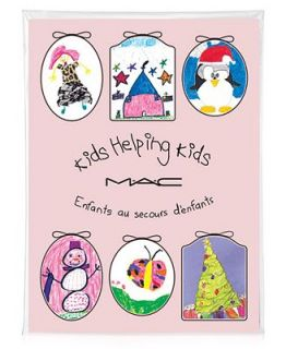 MAC Kids Helping Kids Cards   6 Greeting Cards