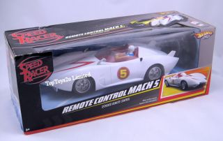 New Hot Wheels Speed Remote Control Racer Mach 5