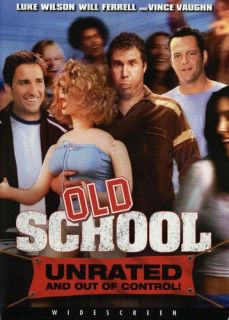 Old School Brand New Factory SEALED DVD with Will Ferrell Free Popcorn