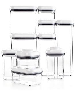 OXO 10 Piece Pop Container Set   Kitchen Gadgets   Kitchen