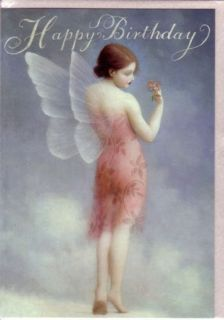 Fairy Birthday Cards by Stephen Mackey Set of 2 Cards Ethereal Wings