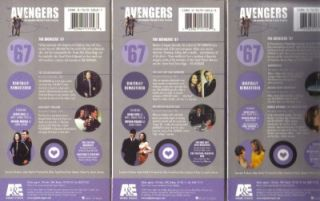 VHS 3 Video 67 Avengers Set 4 Diana Rigg Patrick Macnee
