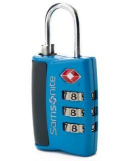 Samsonite Travel Sentry Luggage Key Locks, Set of 2 Brass TSA Friendly
