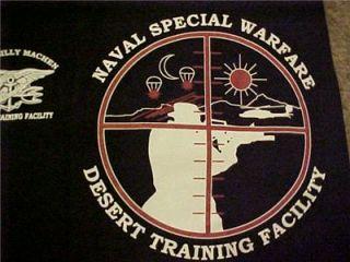 Seal Team Camp Billy Machen Desert Training Facility Black Shirt Sz x