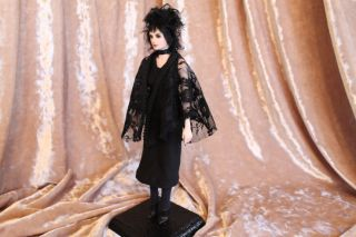 OOAK Fairy Tale Gothic Goth Lydia Doll Sculpture P Gibbons Fairies Art