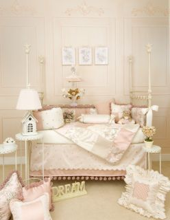 Madison 4 PC Glenna Jean New Crib Baby Nursery Bedding