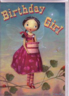 Fairy Birthday Cards by Stephen Mackey Set of 2 Cards Girl Fairy