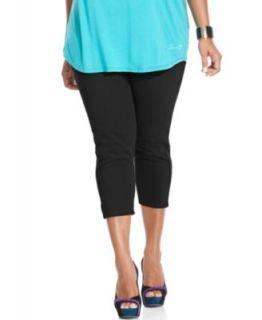 Silver Jeans Plus Size Jeans, Suki Capri, Indigo Wash   Plus Size