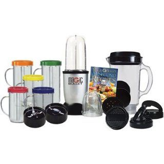 Magic Bullet Deluxe 25 Piece Set Hi Speed Blender Mixer Chop Mix Blend