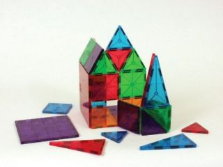 New Magna Tiles Clear Colors 32 Piece Set