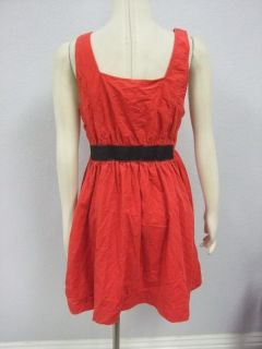 DESCRIPTION  NWOT Maeve Anthropologie Bright Red Corduroy Dress Sz