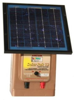 Parmak 12V Solar/Battery Operated Electric Fence Charger  30 Mile