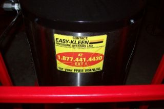 Easy Kleen Magnum 4000 PSI Hot Water Pressure Washer New Gas Pump No 2