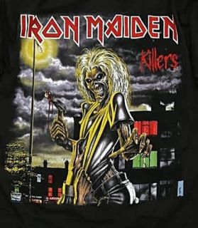 Iron Maiden Killers Metal Rock T Shirt M L 2XL NWT