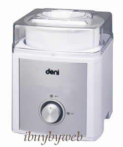 Deni 5225 2 Qt Ice Cream Maker Machine New