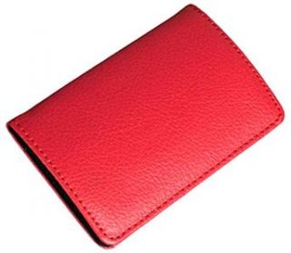 Magnetic Business Name Credit Card Holder Wallet Case B23R