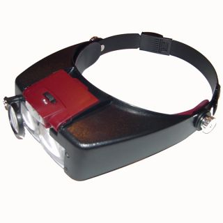 Light Head Magnifying Glass Magnifier Jewelry Repair Hobby 1 5 3 8 5