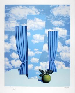 Magritte Rene René Le Beau Monde High Society Lithograph