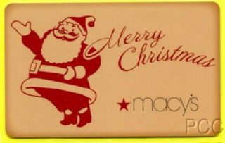 Macys Merry Christmas 2010 Gift Card LLC