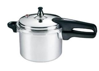 Fal 92140A 4 Qt Mirro Pressure Cooker Features Locking Handle Safety