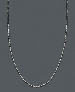 Silver Dot Dash Chain 20   Necklaces   Jewelry & Watches