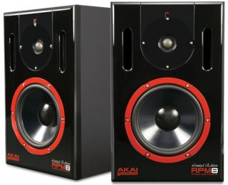 Akai RPM8 8 Studio Amplified Powered PA Speaker New