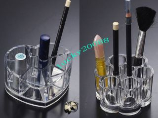 New Clear Acrylic Cosmetic Organizer Makeup Case Holder 35