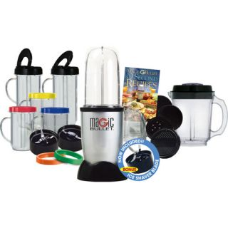 Magic Bullet 26 Piece Set Hi Speed Blender Mixer with Bonus Ice Shaver