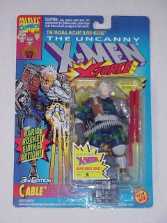 Toy Biz Marvel x Men x Force Cable 3rd Edition