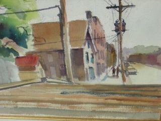 THOMAS MALLOY, AFRICAN AMERICAN ARTIST, STREET IN TRENTON,NEW JERSEY