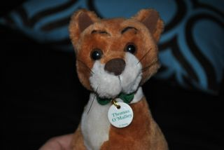 Aristocats Thomas OMalley Cat Plush Alley Cat Stuffed