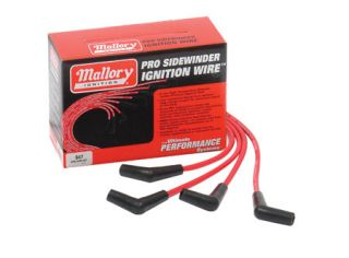 Mallory Pro Sidewinder Spark Plug Wires 947